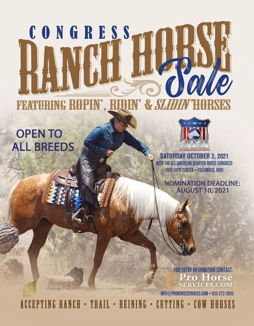 Congress Ranch Horse Sale, 2 October   Event in Columbus   AllEvents.in