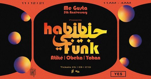 Me Gusta presents Habibi Funk, 17 July | Event in Manchester | AllEvents.in