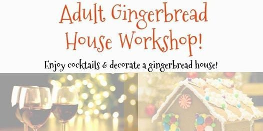 4th Annual Tacky Gingerbread House Party with Blue Aces
