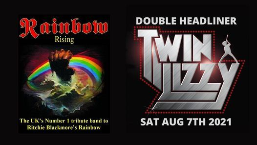 Longfield Live: Rainbow Rising & Twin Lizzy Double Header, 7 August | Event in Manchester | AllEvents.in