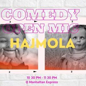 HajMola - Comedy Open Mic