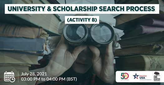 University & Scholarship Search Process, 28 July | Event in Dhaka | AllEvents.in