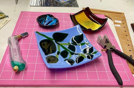 Fused Glass Workshop-Fuse and Slump