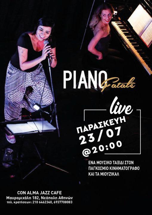 live  Piano Fatale | Event in Palaio Faliro | AllEvents.in