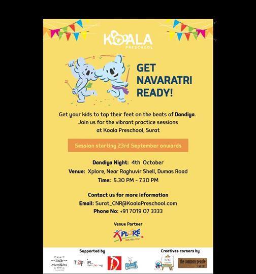Garba Eve For Kids At Xplore Surat