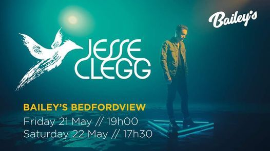 Jesse Clegg live at Bailey's, 21 May | Event in Johannesburg | AllEvents.in