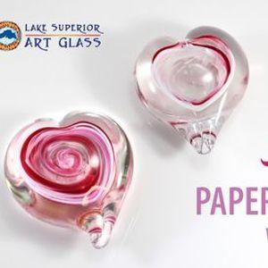 Heart Paperweight Class