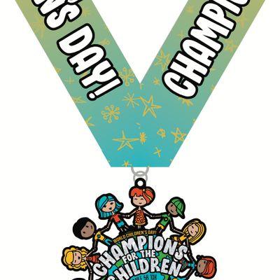 VIRTUAL RACE Champions for the Children 1M 5K 10K 13.1 26.2 -Oakland