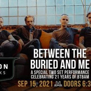 Between The Buried And Me at Marathon Music Works