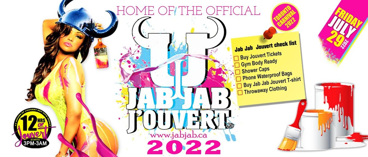 JAB JAB J'OUVERT 2022 - Toronto Caribana Caribbean Carnival, 29 July | Event in Toronto | AllEvents.in
