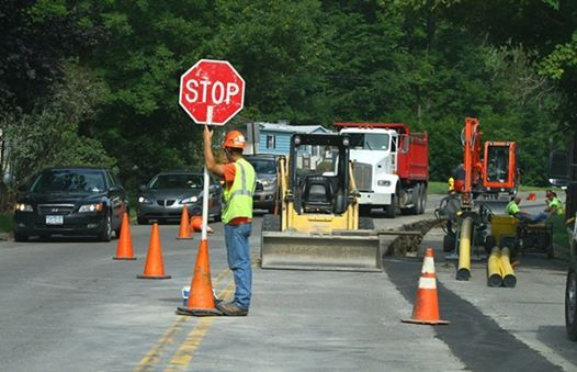 Flagger Class At Delaware Safety Council Newark