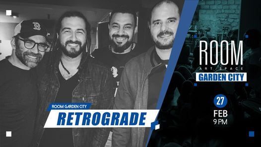 Retrograde Rock Night at Room Garden City | Event in Cairo | AllEvents.in