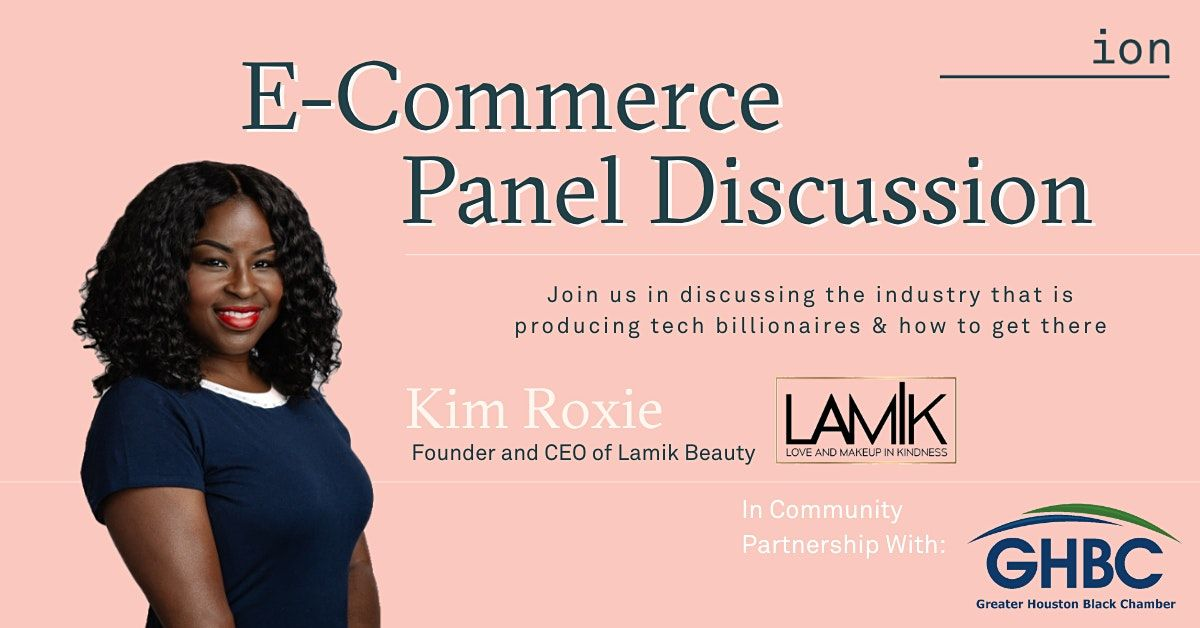 E-Commerce November Meetup & Panel Discussion   Kim Roxie, 17 November   Online Event   AllEvents.in