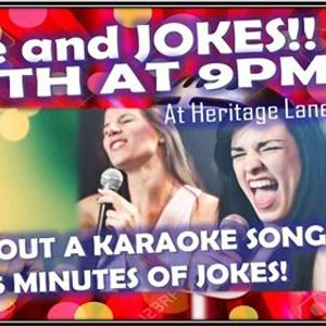 Karaoke and Jokes With Headliner John Sonofdavid