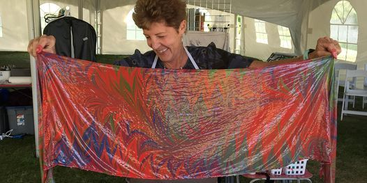 Create a Silk Scarf, SIP & DIP Workshop- VOLCANIC HILLS WINERY, 15 May | Event in West Kelowna | AllEvents.in