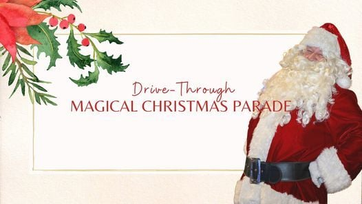 Drive Through Magical Christmas Parade, Downtown Fairhope, 4