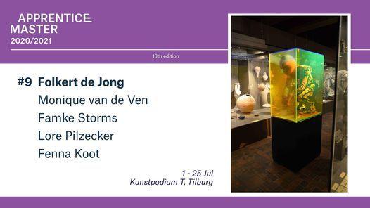 Apprentice Master #9: Folkert de Jong, 1 July   Event in Tilburg   AllEvents.in