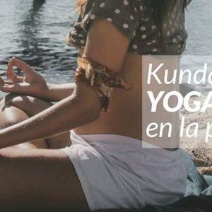 Kundalini Yoga en la playa de Badalona