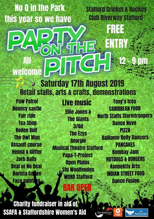 Party on the Pitch (Free admission)