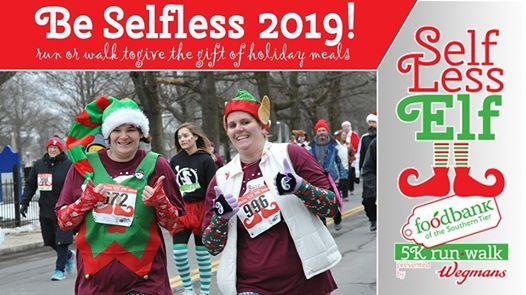 Selfless Elf 5k walkrun 2019