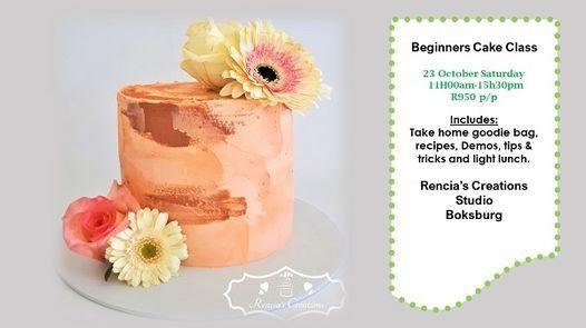 Beginners Cake Class, 23 October | Event in Boksburg | AllEvents.in