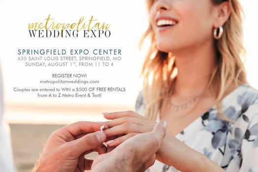 Metropolitan Wedding Expo-Springfield MO, 1 August   Event in Springfield   AllEvents.in