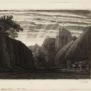 Online Talk - Online Print Room Visit F. L. Griggs Visions of England