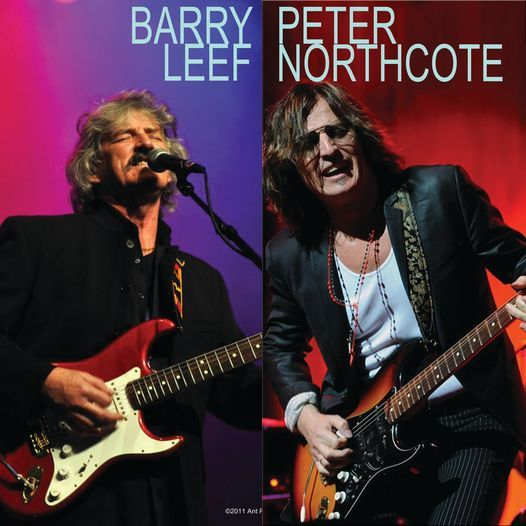 Classic Rock Show (Best of West Coast Rock) - Barry Leef Band Feat: Peter Northcote & Victor Rounds, 16 October