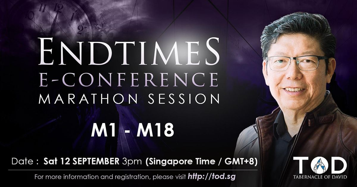 Tabernacle of David Singapore End times E-Conference