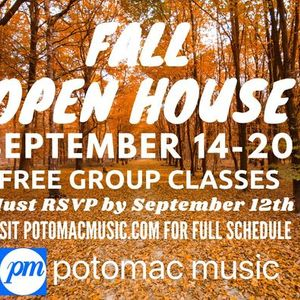 Fall Open House Free Group Classes & Workshops