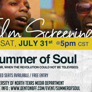 Film Screening Questloves Summer of Soul