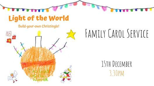 Family Carol Service Build-your-own Christingle