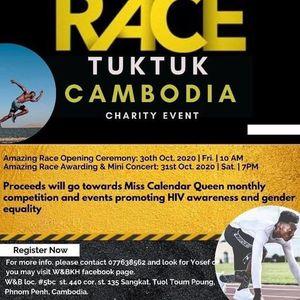 Amazing Tuktuk Race  Cambodia