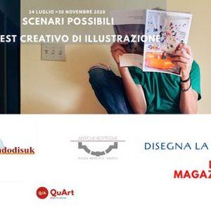 Gara di illustrazione per la copertina di QuArt