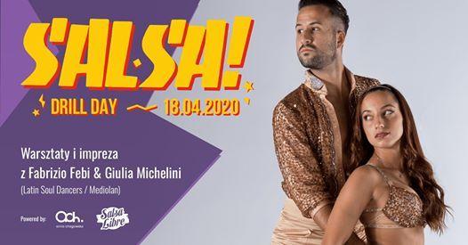 Salsa Drill Day warsztaty z Fabrizio i Giuli 18.04