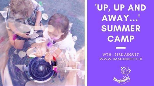 Imaginositys Up Up and Away Summer Camp