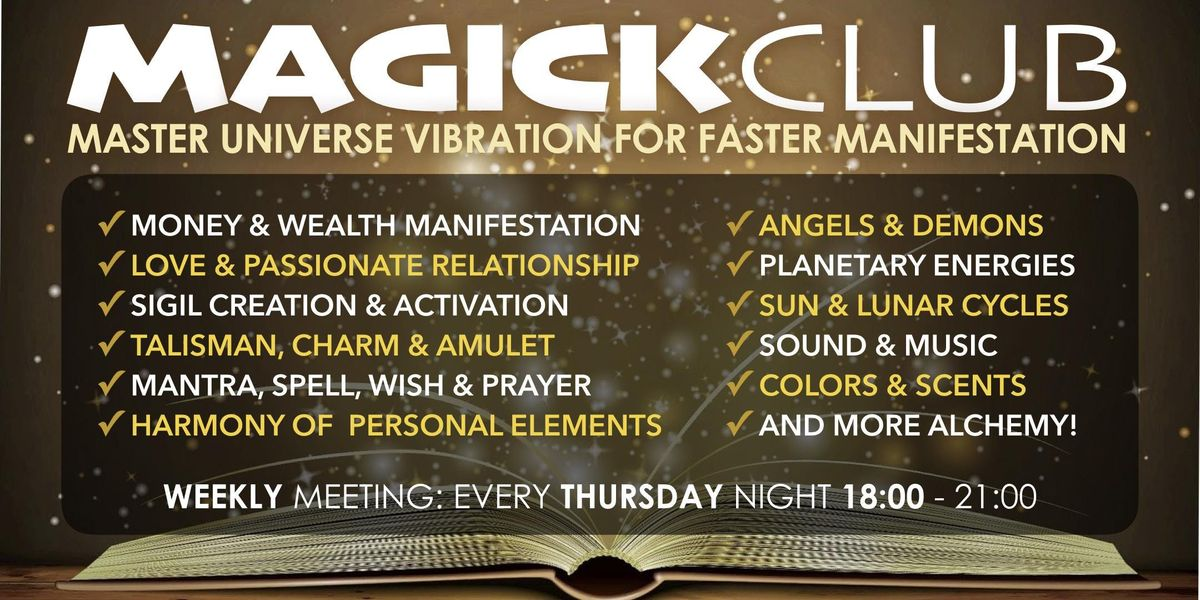 Chaos Magick events in the City  Top Upcoming Events for Chaos Magick
