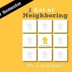 The Art of Neighbouring - Winter Semester Group