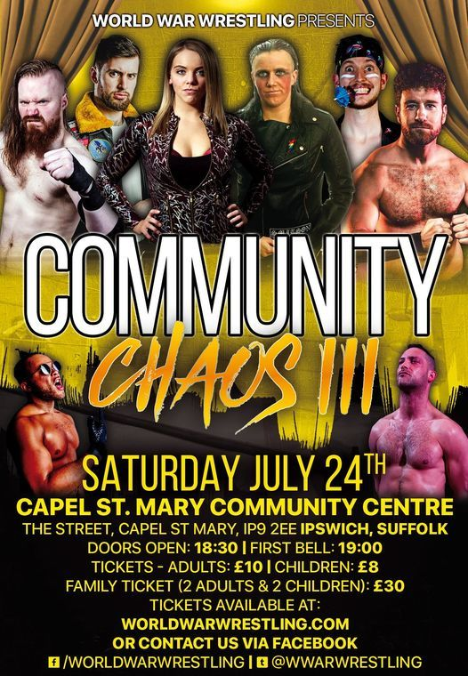 Community Chaos III, 24 July   Event in Ipswich   AllEvents.in