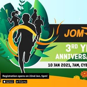 Jomrun 3rd Year Anniversary Run