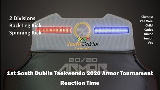 1st South Dublin Taekwondo 2020 Armor Tournament, 5 December | Event in Dublin | AllEvents.in