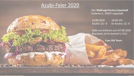 Azubi-Feier 2020