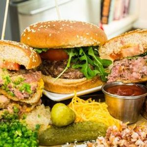 These Aint Your Mommas Burgers --May Cooking Class