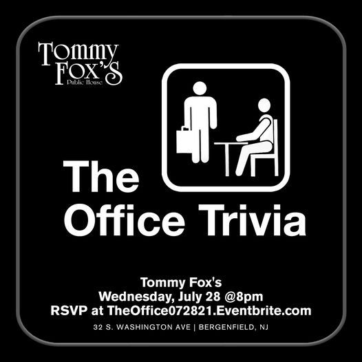 The Office Trivia, 28 July | Event in Bergenfield | AllEvents.in