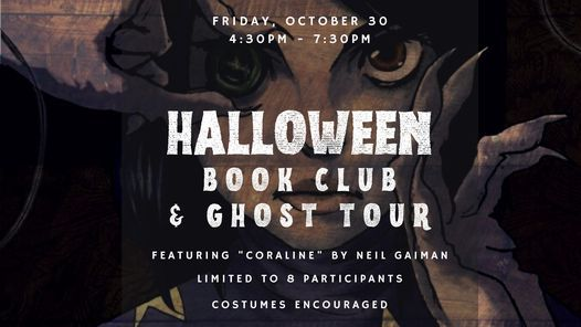 Halloween Book Club & Ghost Tour, 30 October | Event in Aspen | AllEvents.in
