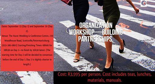 The Organization WorkshopBuilding Partnerships.