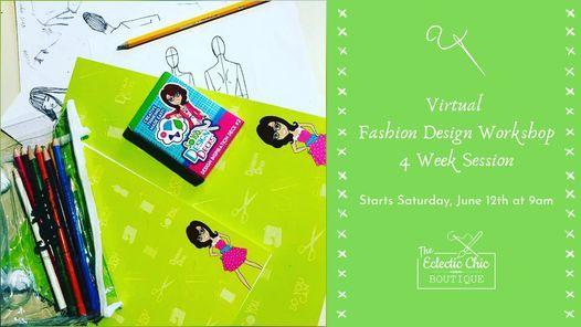 Virtual Fashion Design Workshop: 4 Week Session | Online Event | AllEvents.in