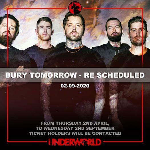 Bury Tomorrow at The Underworld Camden - Re Scheduled