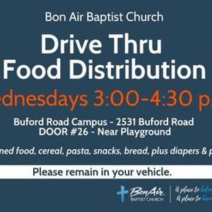 Drive Thru Food Distribution (free)
