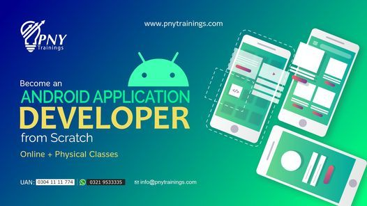 Become an Android Application Developer from Scratch, 23 January | Event in Gujranwala | AllEvents.in